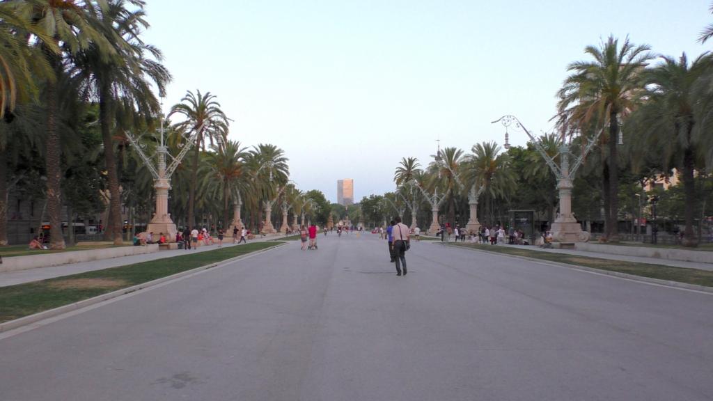 スペイン バルセロナ シウタデリャ公園