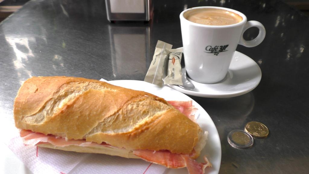 スペイン バルセロナ カフェ