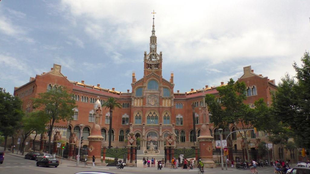 スペイン バルセロナ サンパウ病院