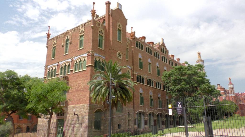スペイン バルセロナ サンパウ病院 無料