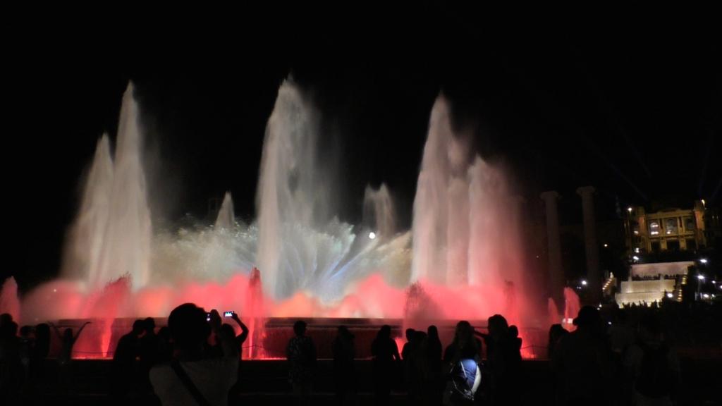 スペイン バルセロナ マジカ噴水