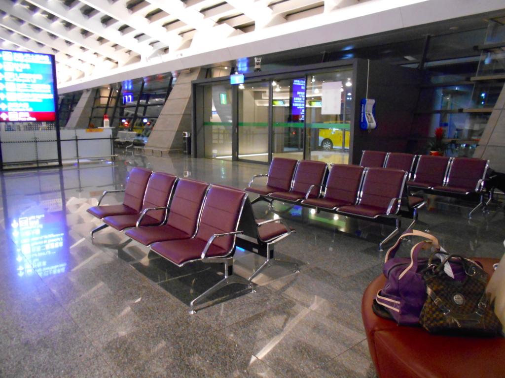 桃園国際空港で空港泊!ターミナル1の仮眠ができる場所