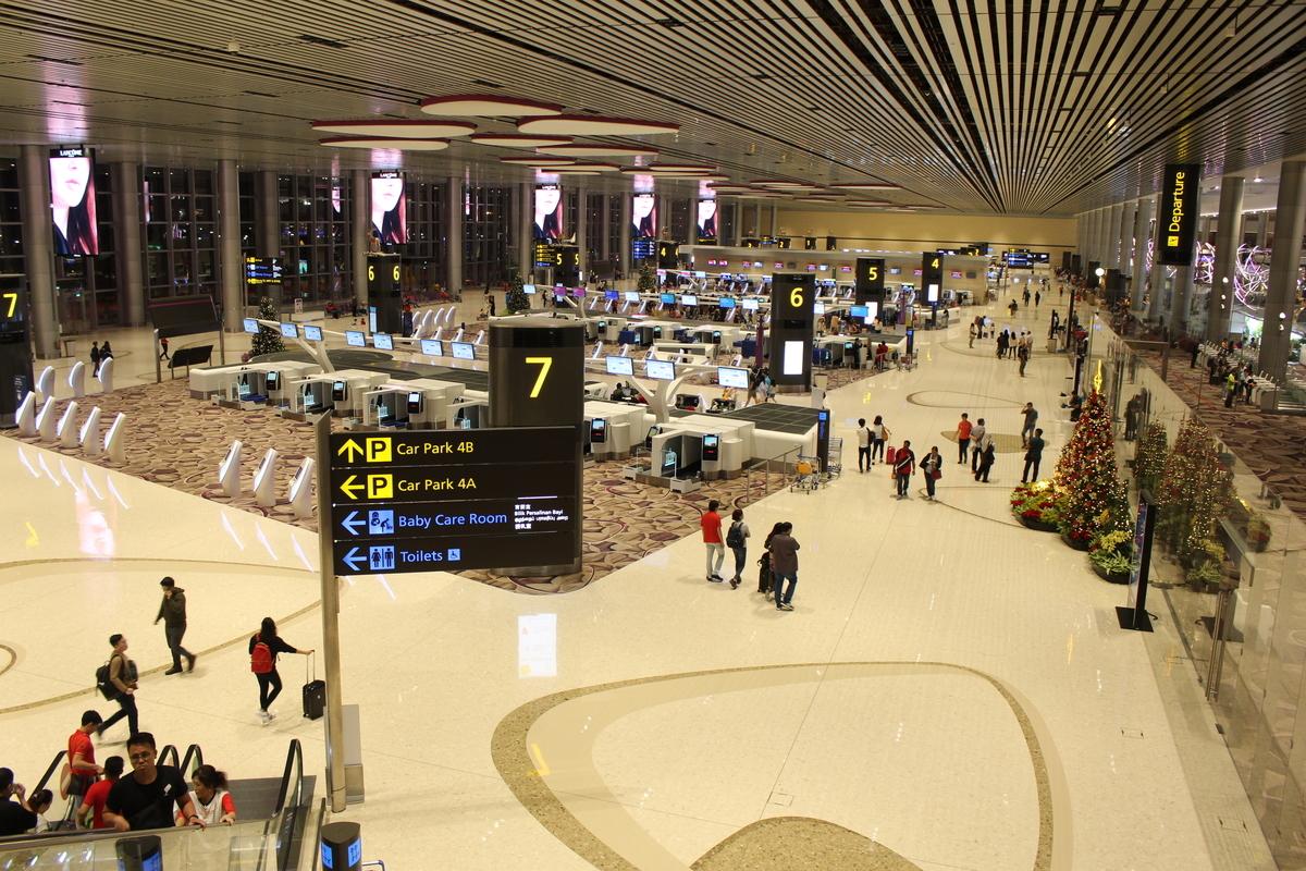 チャンギ国際空港第4ターミナル紹介!建設したのは日本の会社!?