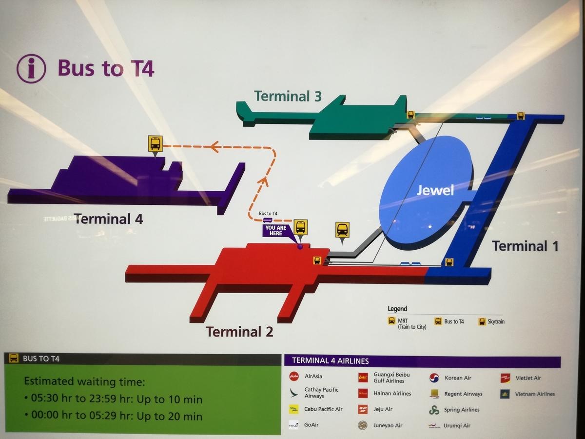 第4ターミナルの場所はどこ?