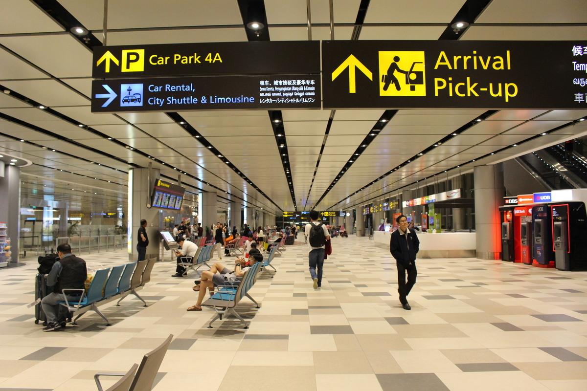 シャトルバスとMRTで市内へ!チャンギ空港 第4ターミナルから公共交通機関紹介