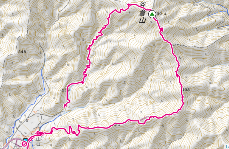 谷倉山ハイキングコース