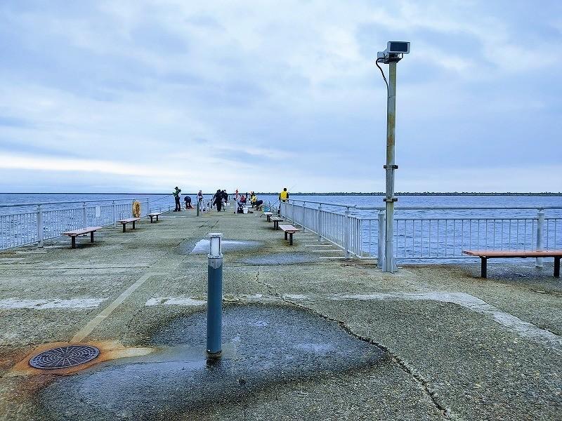 管理釣り場の景色
