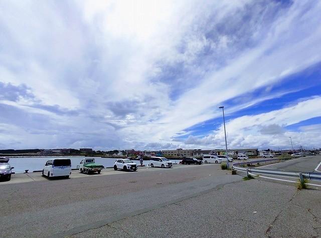 那珂湊港の釣り場