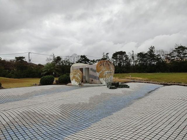 波崎かもめ公園のトイレ外観