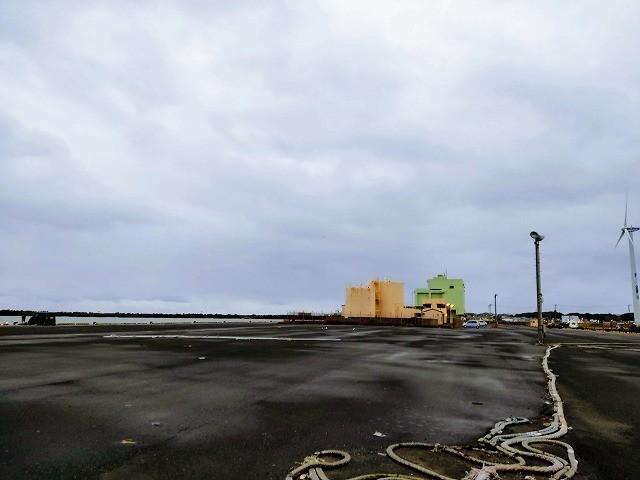 波崎新港は広い