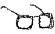 黒ぶちメガネ 性格