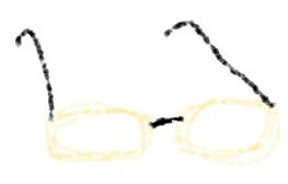 縁なしメガネ 性格