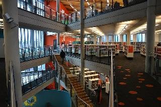 作業スペース 図書館