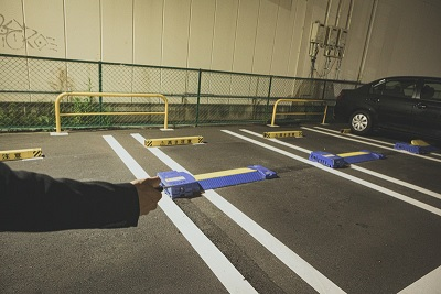 ぱんちょう 駐車場
