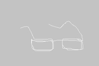 白いメガネ 心理