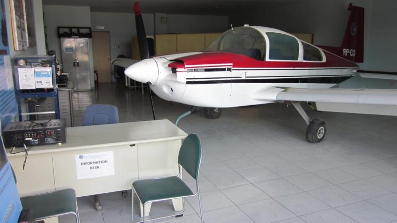 FDSA航空科学技術大学 クラーク本校舎1F