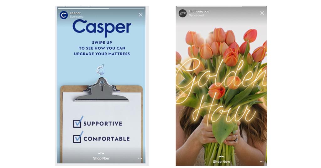 Instagramストーリーズ広告がCanvasのフォーマットに対応。配信の最適化によりFacebookやInstagramなどへの自動配信も