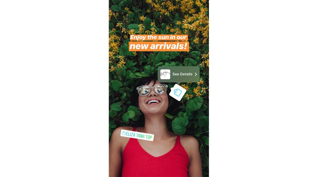 Instagramストーリーズにショッピング機能が登場