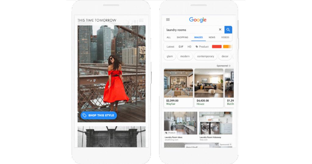 Google、購入画像広告(Shoppable Image ads)及びショーケース広告への動画導入を発表~ビジュアルコンテンツから購買につなげる