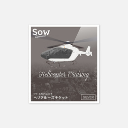 ソウで評判のヘリコプターでクルージングチケットを買う