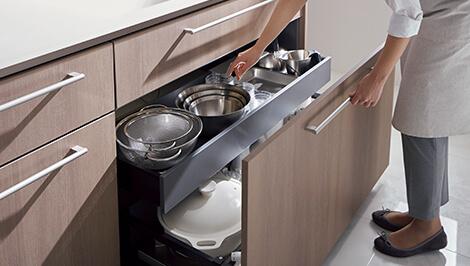キッチン クラッソの整理整頓が簡単収納オプションの評価