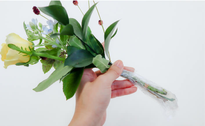お花の体験ギフト、ブルーミーの利用手順とは