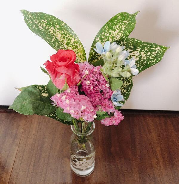 bloomeeから2回目のお花が届きました