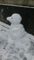 ペンギン雪ダルマ