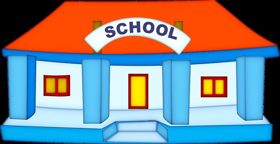 校舎 イラスト