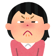 泣きそうな女性