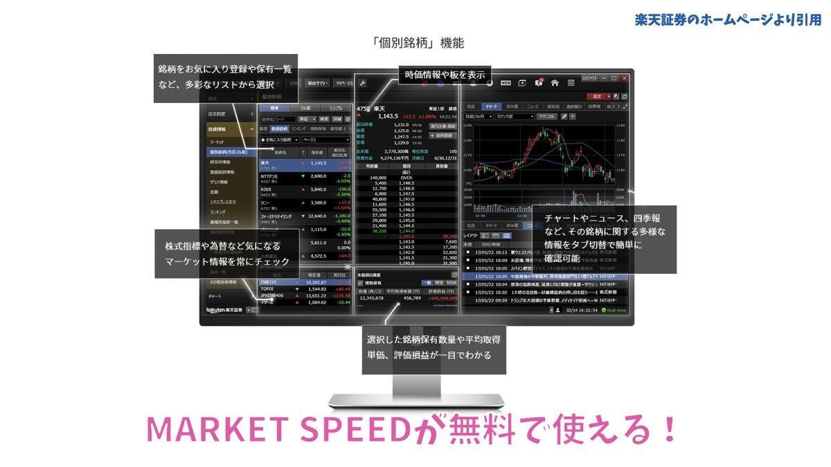 楽天証券の魅力4