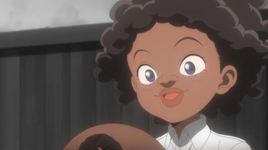 約束のネバーランドアニメ画像