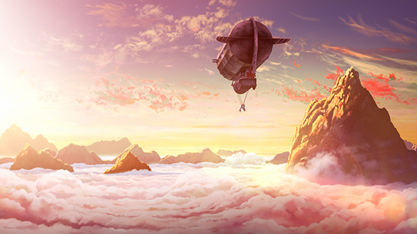 空挺ドラゴンズアニメ画像