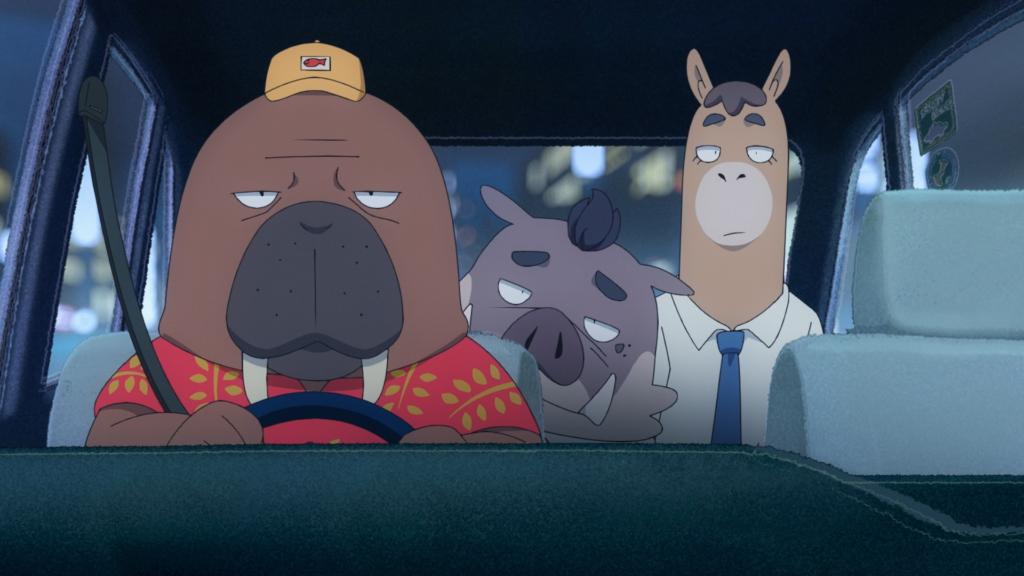 オッド・タクシーアニメ画像