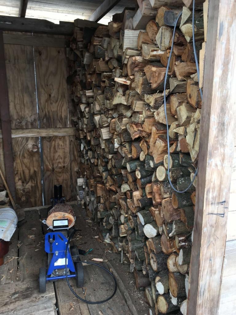 薪割り部屋(奥様用)