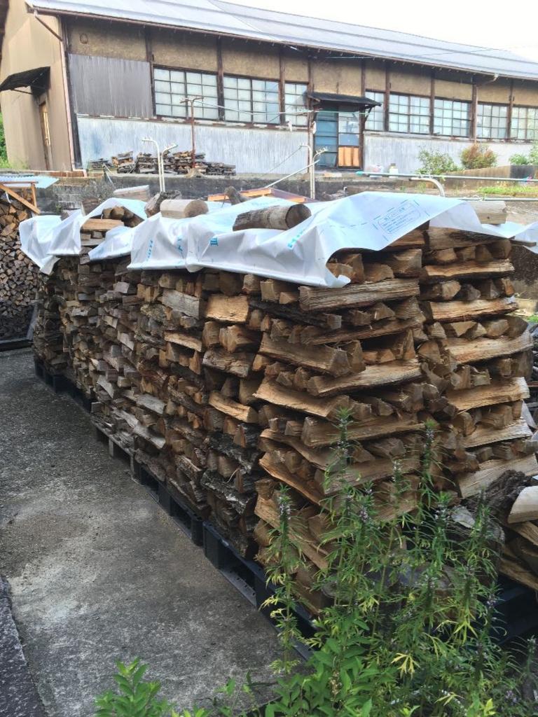 薪山崎の薪透湿防水シート