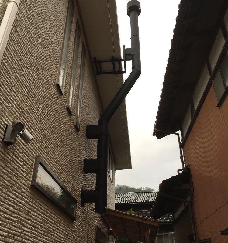 薪山崎の煙突