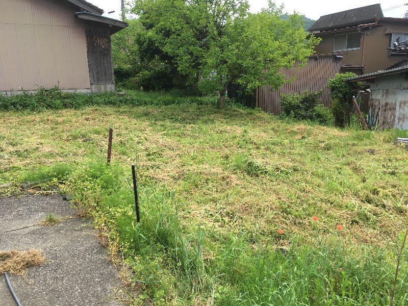 薪山崎草刈り結果