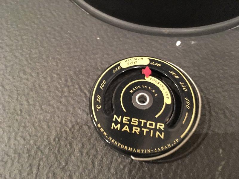 ネスターマーティン温度計薪山崎