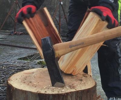 薪山崎の杉の薪