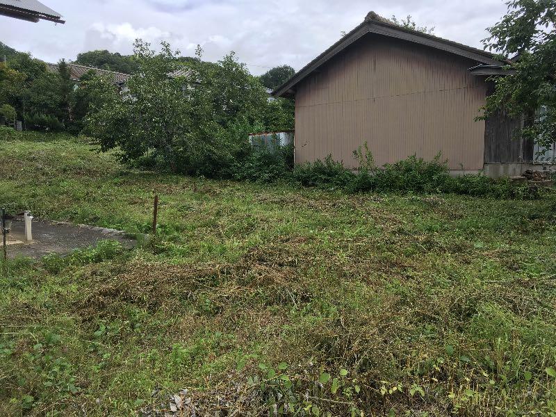 薪山崎2017年8月の草刈り2