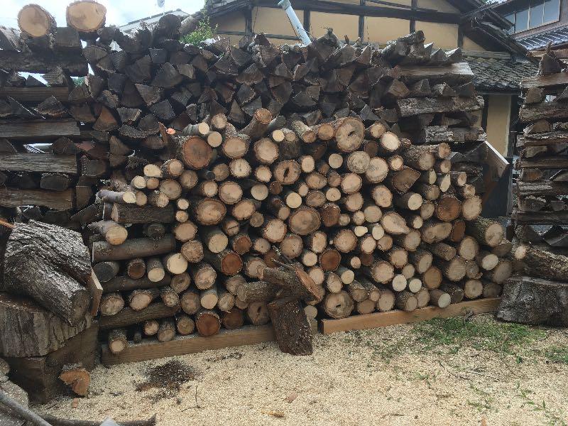 薪山崎の枝薪
