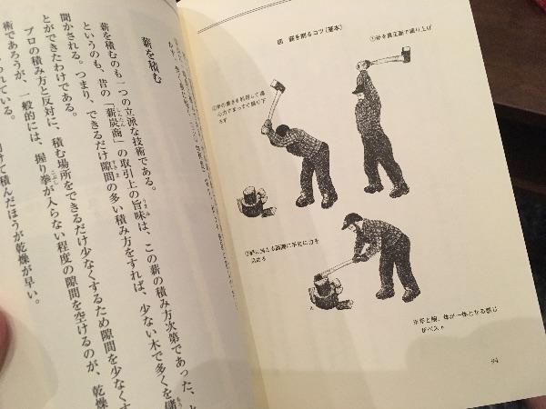 薪割り礼賛の薪割り方法