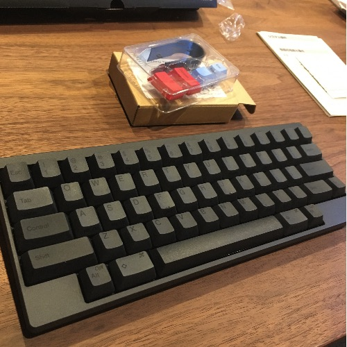 ハッピーハッキングキーボードBT墨カラー