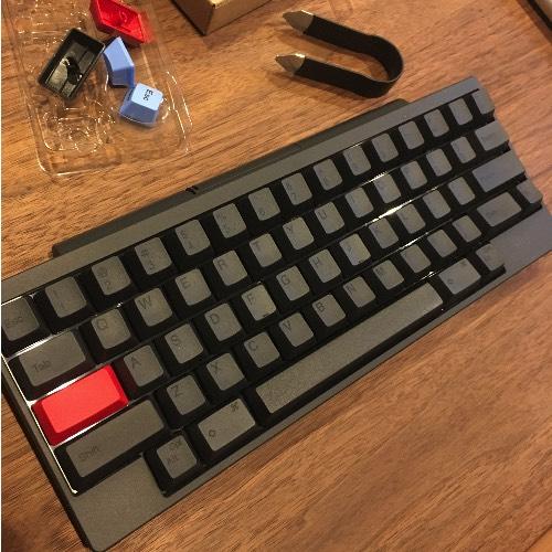 ハッピーハッキングキーボードキートップ交換後