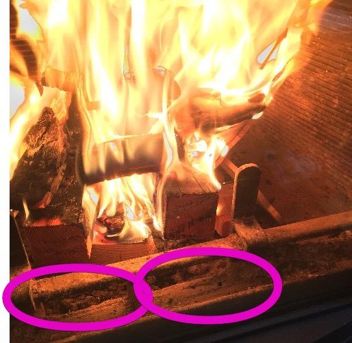 ネスターマーティンS43の燃焼空気はココの確保が重要だ!?