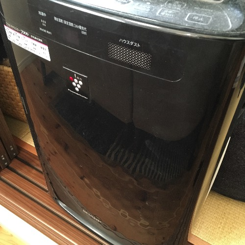 薪山崎以前使用していた加湿清浄機