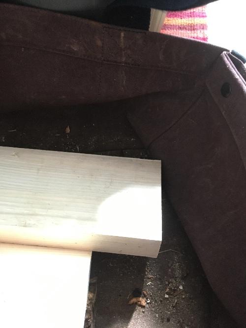 薪山崎の使用するファイヤーサイドのログキャリー3