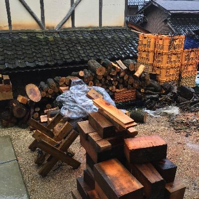 薪山崎の薪場、整理後