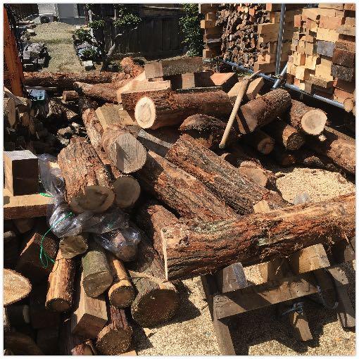 チップ屋さんから購入した薪原木2